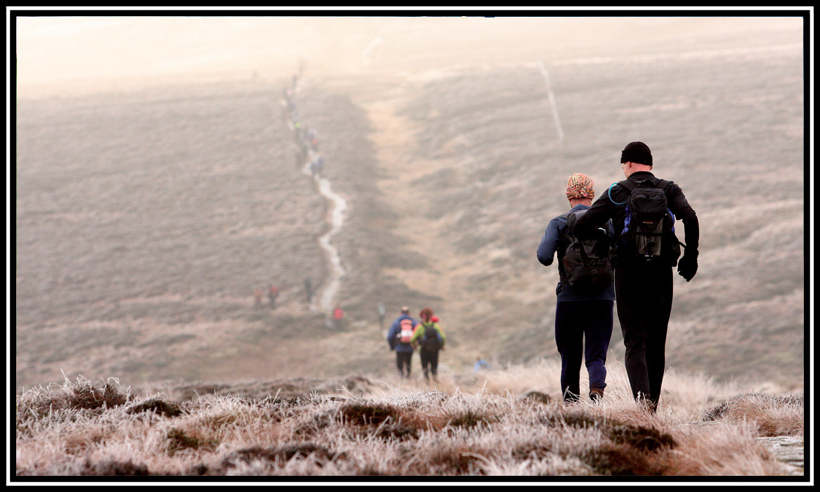 The Trigger Race 2013 (Marsden to Edale)